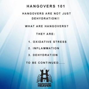 hangovers 101 basics