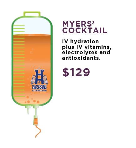 Myers' Cocktail IV Hydration