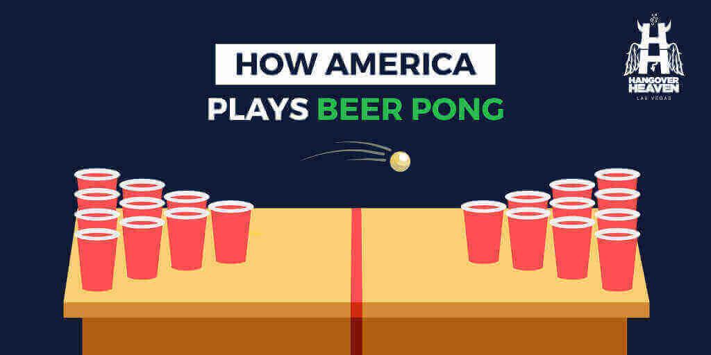 How America Plays Beer Pong
