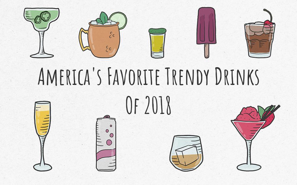 America's Favorite Trendy Drinks of 2018