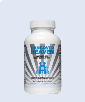 Hangover Heaven Nightlife Prep Supplement 90 Count