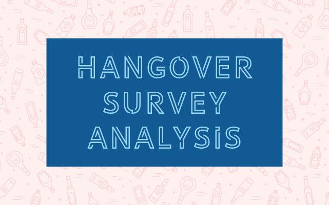 Hangover Survey Analysis